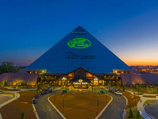 8. Visit the world's largest Bass Pro Shop.