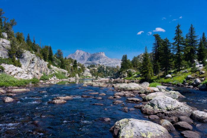7. Fremont Creek In Bridger Wilderness