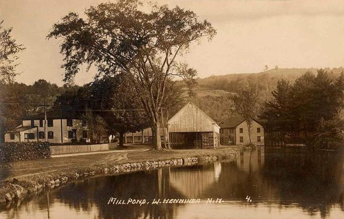 14. Mill Pond in Henniker doesn't look like it's changed too much since 1914.