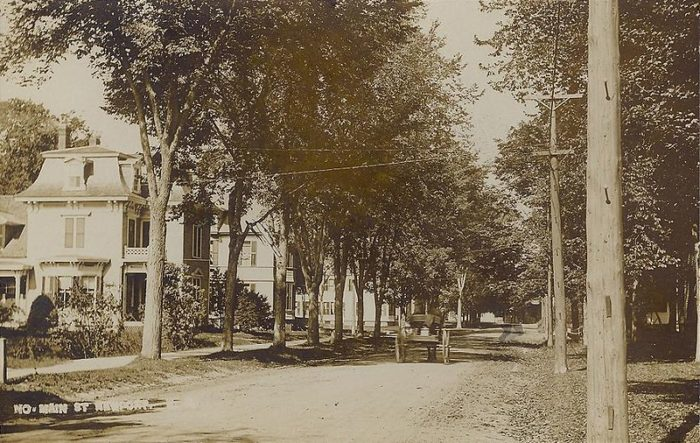1. You can still drive along tree-lined streets in Newport, but you'll be a lot less likely to see a horse and buggy.