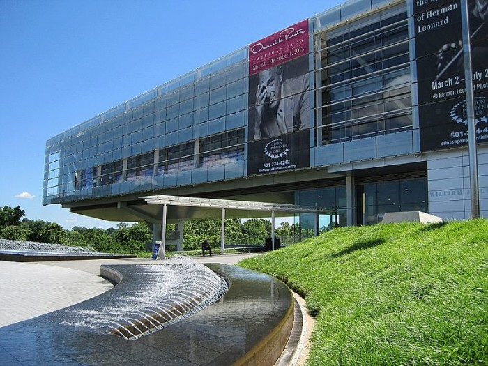 And, of course, the Clinton Presidential Library: