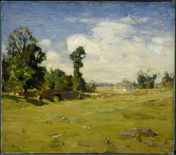 It's always been full of art; in the early 20th century, impressionist painters William L. Lanthrop and Edward Redfield founded an art colony here.