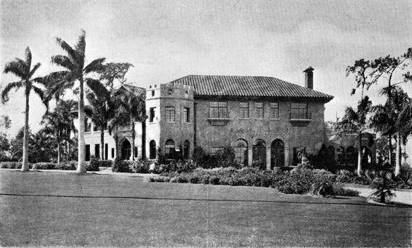 2. W.J. Howey Manison: Howey-in-the-Hills, 1925
