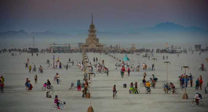 """7. """"Several Nevadans have no idea what Burning Man is all about."""""""