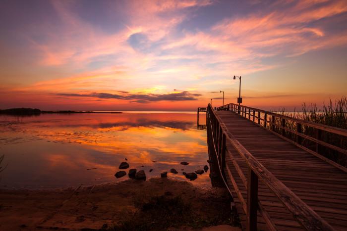 7. Alabama has the most stunning sunrises and sunsets.