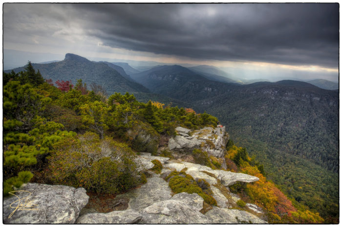8. Aside from Mt. Mitchell, the Blue Ridge Parkway is also home to the deepest gorge in eastern America - Linville Gorge.