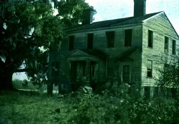 3. Gregory House: Ocheesee Landing, Florida, 1935