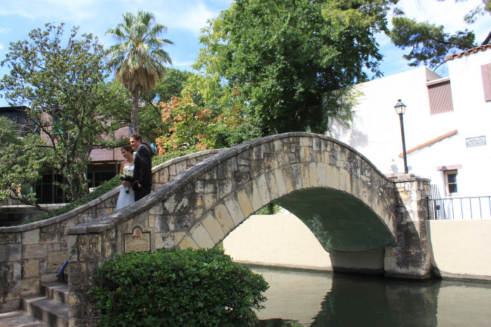 11. The River Walk is the venue for over 225 wedding ceremonies each year.