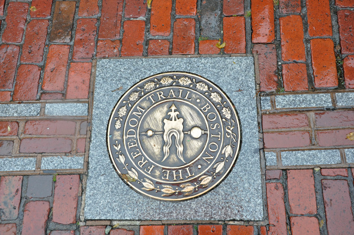 13. Walk the Freedom Trail in Boston.