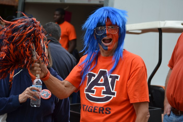 """...or """"War Eagle!,"""" they'll look at you in a state of confusion if they're a tourist. ALL Alabama residents know the meaning of """"Roll Tide!"""" and """"War Eagle!"""""""