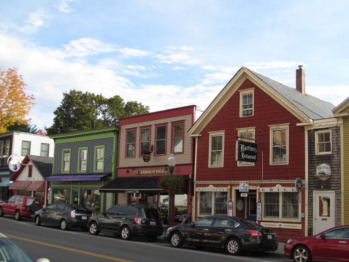 15. Camden, Maine