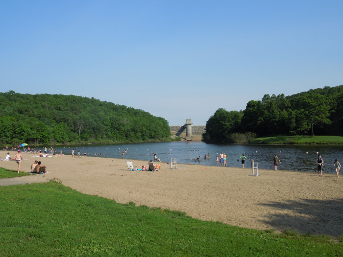 10. Hop Brook Lake in Middlebury has a 21-acre recreation pool for folks who love to play in the water.