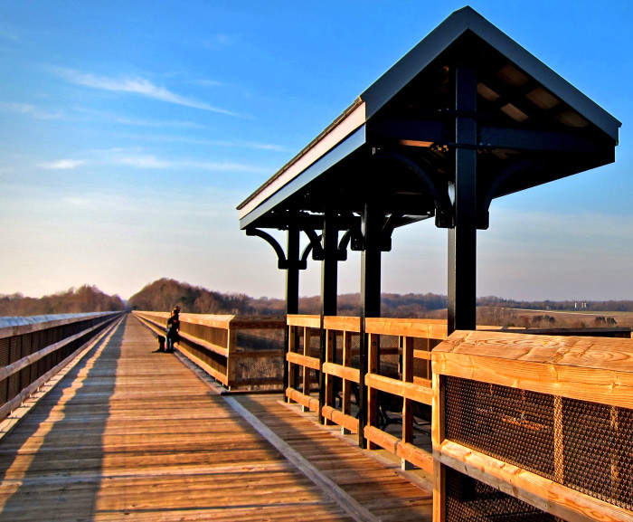 8. High Bridge Trail (length depends)