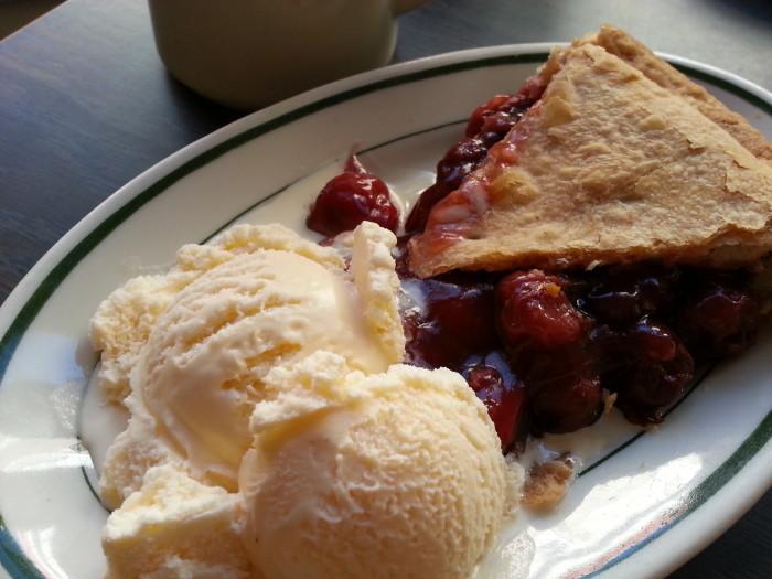 6. Cherry pie