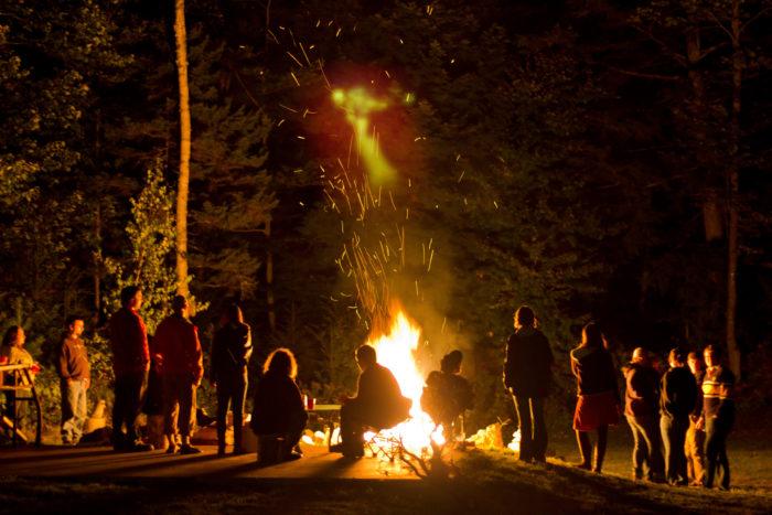 11. Spontaneous bonfires