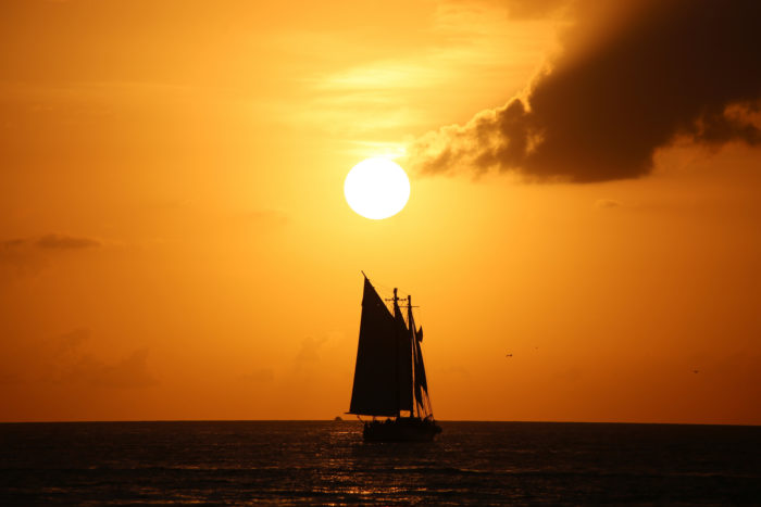 8. Key West is the city with the highest average temperature in the country (77.8 degrees).
