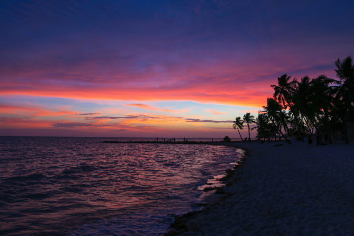4. Most of the sand of Key West's beaches had to be brought over from the Caribbean.