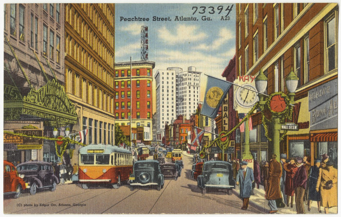 """8. There are more than 55 streets in Atlanta with the name """"Peachtree."""" But...they may not be named after peaches."""