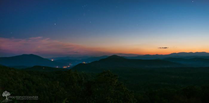 8. The Blue Ridge Mountains.
