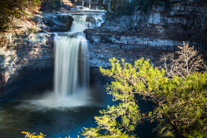 4. Visit DeSoto Falls, one of the most-visited waterfalls in Alabama.