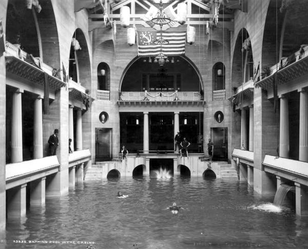 1. Casino pool at the Alcazar Hotel: St. Augustine, 1905