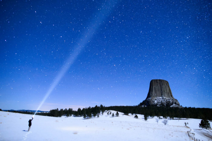 5. Devil's Tower, Wyoming