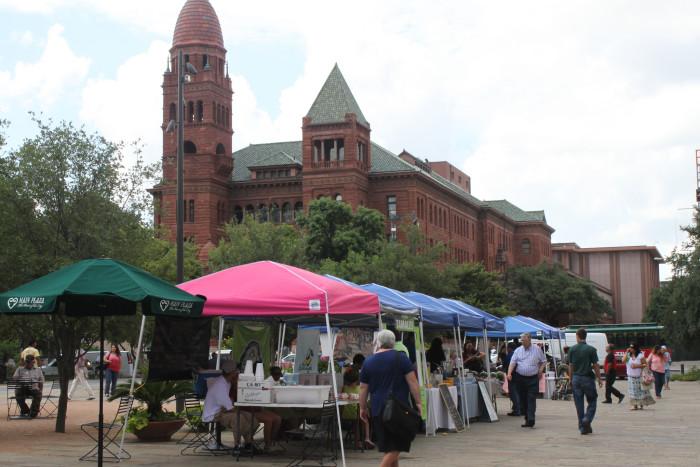 8. Main Plaza Farmers' Market (San Antonio)