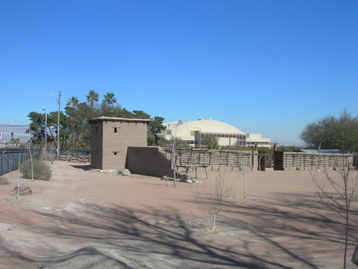 9. Las Vegas Mormon Fort - Las Vegas, NV