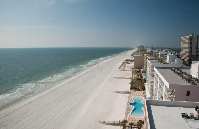 1. Alabama's Gulf Coast is home to 32 miles of beautiful white-sand beaches.