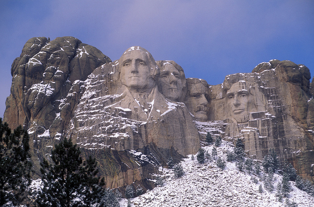 10. Plus, we are home to Mount Rushmore.