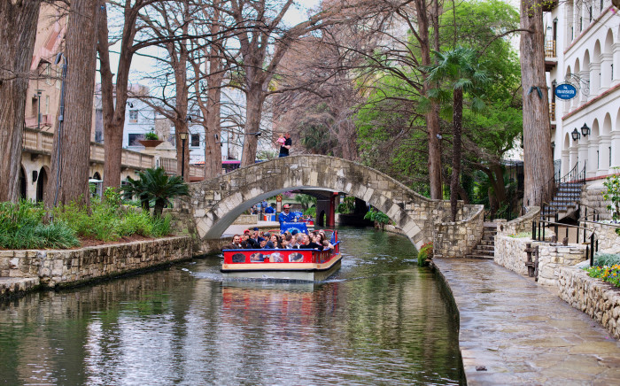 7. Do NOT walk along the San Antonio River Walk