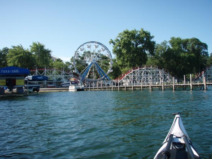13 beautiful waterfront spots in iowa for Lake okoboji fishing