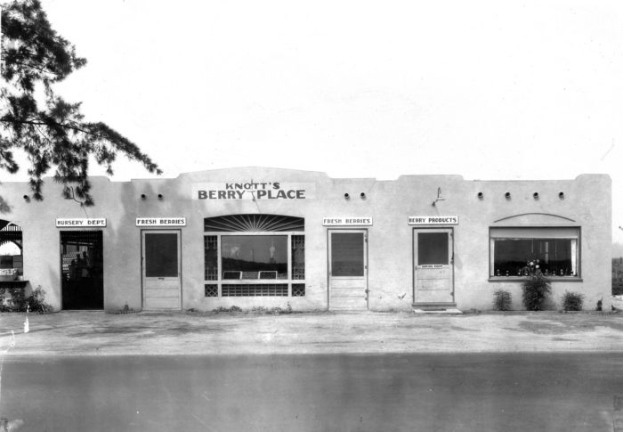 7. Before it was Knott's Berry Farm, it was known as Knott's Berry Place.