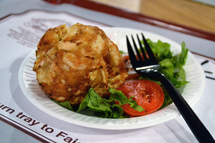 1. Crab cakes. They're just not the same anywhere else.