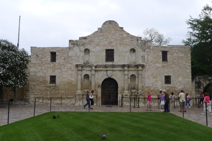 10. Tour the historic Alamo and walk the famous San Antonio River Walk.