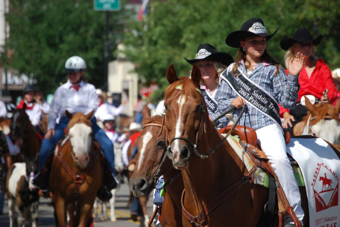 6. No other state even comes close when it comes to our festivals. Frontier Days blows all other state festivals out of the water.