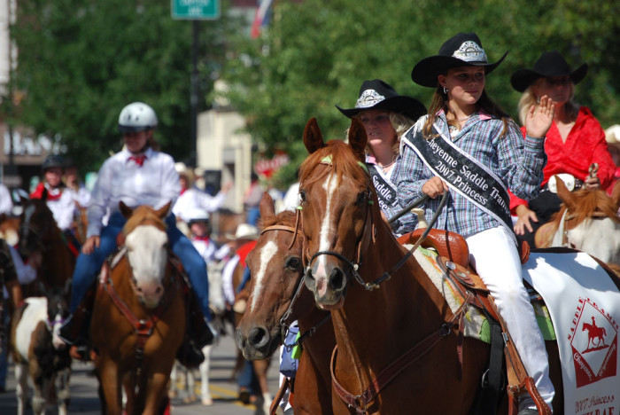 5. We host one of the best western celebrations around... Frontier Days!