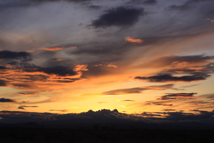 12. Nevada has the most stunning sunrises and sunsets.