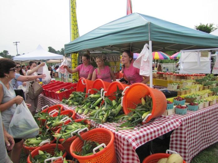 3. Milton Farmers Market, Milton