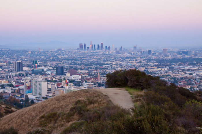 9. Break away from the big city and have a relaxing moment in Runyon Canyon.