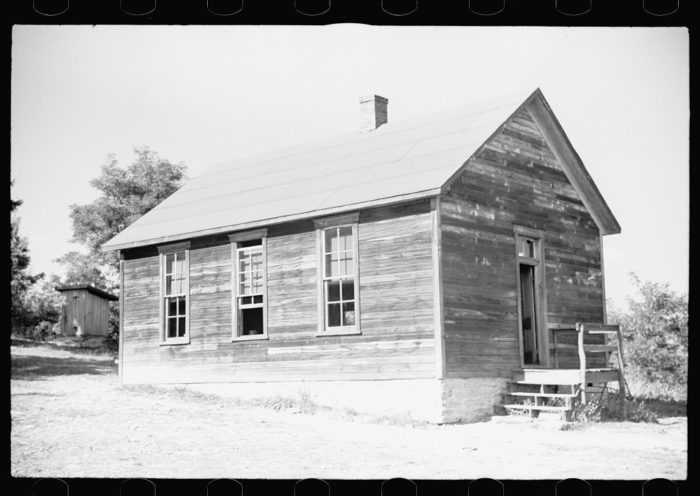 6. A house in Garrett County. Did you spot the outhouse out back?