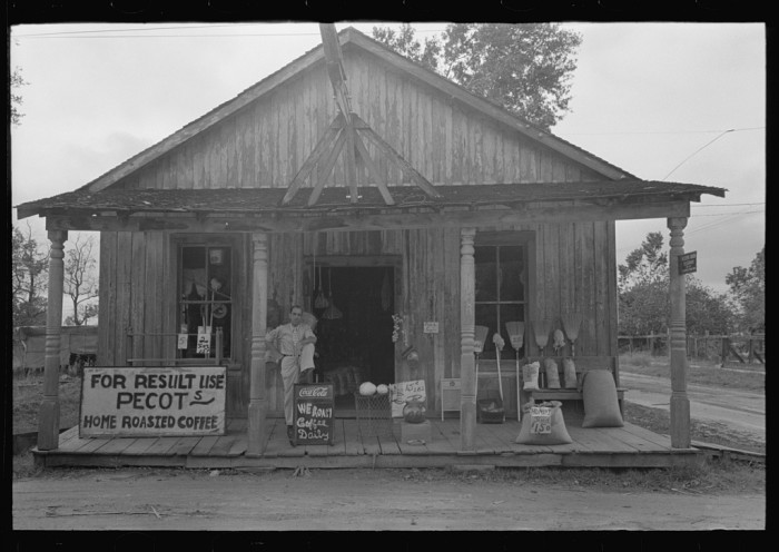 8. Small Store, Jeanerette, October 1938