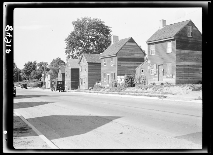 11. With the civil rights movement still decades away, it wasn't uncommon for there to be segregated neighborhoods. Shown here are homes in Dover's 'negro neighborhood.'
