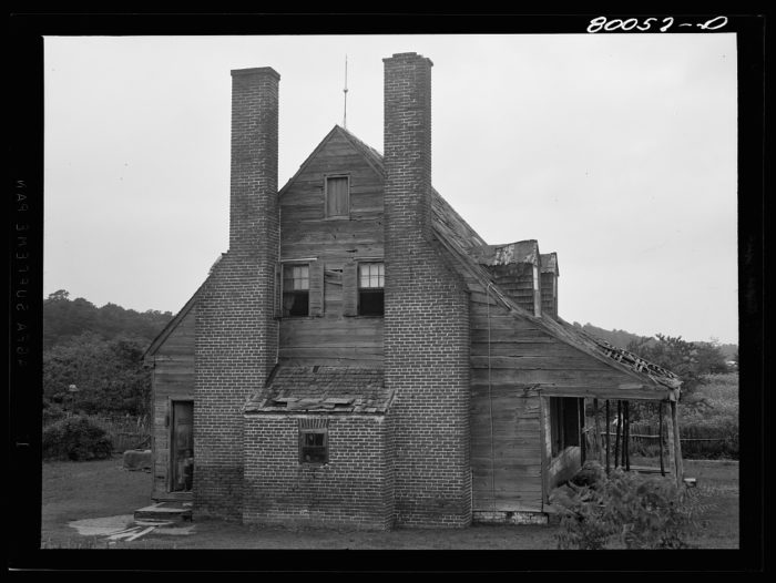 2. An old plantation home near the town of Ridge.