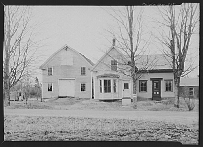 5. A resettlement home located in Winterport, 1936.