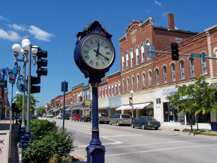 10. Charming small towns where everyone knows your name.