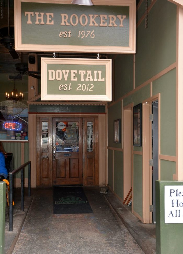 Brunch at The Dovetail is a great way to start your day.