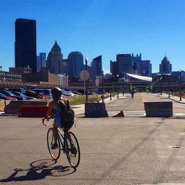 8. Tour Pittsburgh by bike.