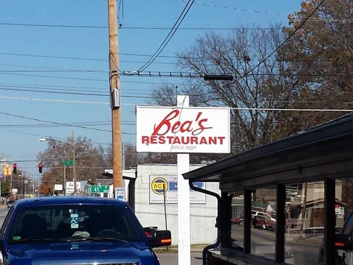 9. Bea's Restaurant - Chattanooga