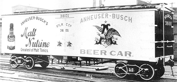9.	In the early 1870s, Adolphus Busch became the first American beer brewer to adopt the use of pasteurization, which allowed beer to be shipped over long distances without spoiling.